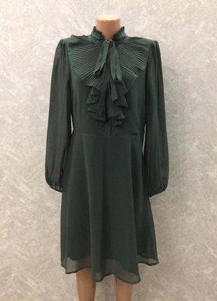 Платье с рюшами marks&spencer