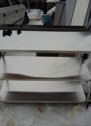 Стіл нержавіючий , стіл із нержавіючої сталі