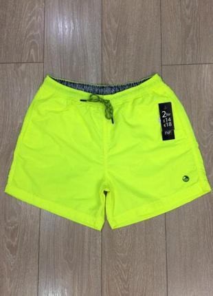 Яркие пляжные шорты размер l f&f