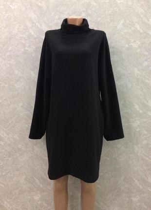 Платье свитшот оверсайз с широким рукавом размер 10-12 cos