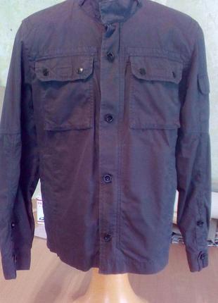 Esprit куртка весенняя легкая из толстого коттона.