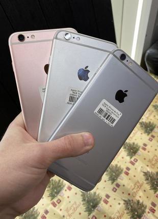 IPhone 6 Plus 16 64 (6S Plus 32 128) Rose Gold Space Silver (о...