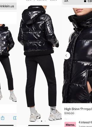 Супер стильная куртка от calvin klein