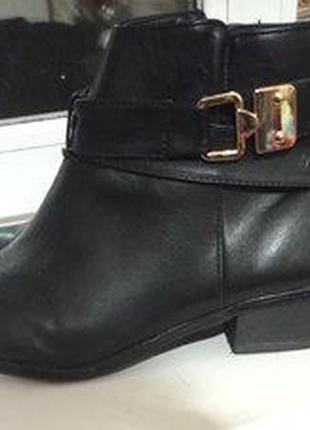 Красивые ботинки бренд NEW LOOK р. 42 на высокий подьем