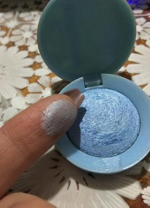 Тени голубые bourjois . качество достойное )  1,5 гр * франция
