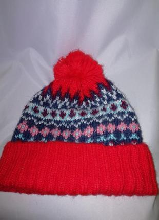 Милая шапочка 5-7лет gap