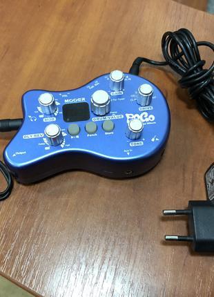 (4436) Процессор для Электрогитары Mooer PoGo