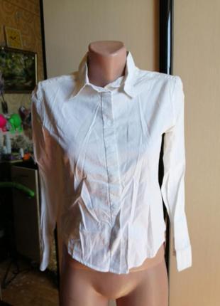 Рубашка на кнопках кап