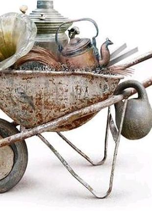 Вывоз хлама лома металлолома