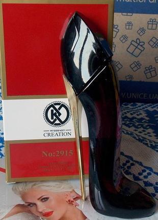 Парфюмированная вода красная туфелька shoe red турция юнайс