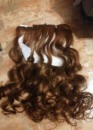 Парик волосы на заколках