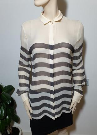 Полупрозрачная рубашка marciano guess