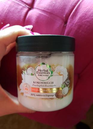 Маска для волос кокосовое масло 250мл