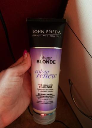 Шампунь для восстановления осветлених волос