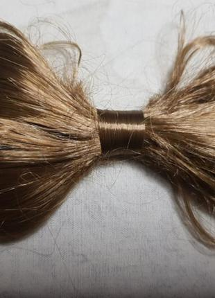 Парик бант из волос