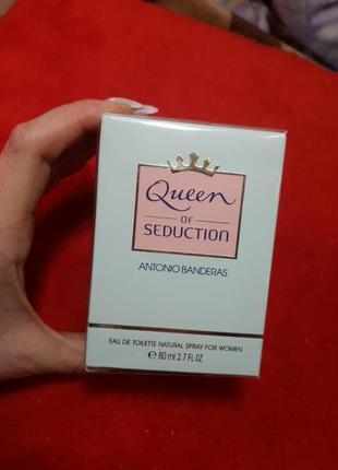 Туалетная вода antonio banderas of seduction