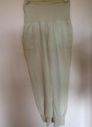 Леновые  штаны , могут быть для беременных. /xl/ brend zebra