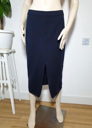 Шерстяная юбка миди max mara