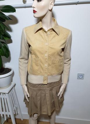 Пиджак со вставками алькантары sportliche eleganz