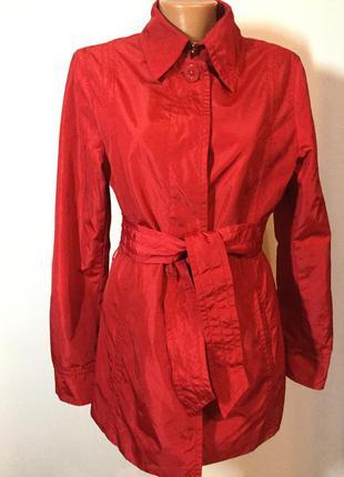 Красная курточка- плащик  /m/ brend esprit