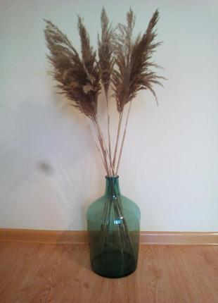 Большая ваза бутыль с узким горлышком.