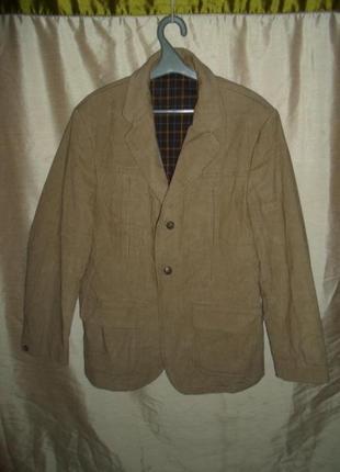 Пиджак-куртка вельвет