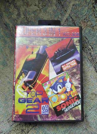 Картриджи на SEGA Mega Drive