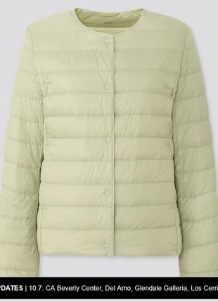 Пуховик, поддев от uniqlo япония ultra light down compact jacket