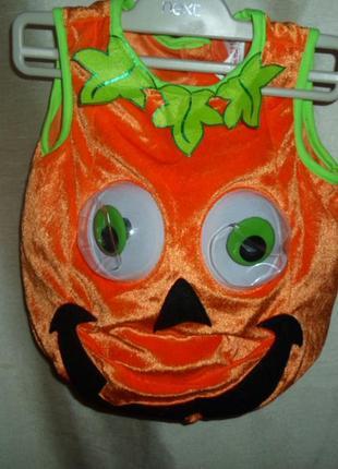 Карнавальный костюм на хэллоуин для малыша tu