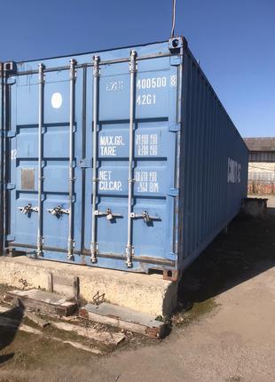 Морской контейнер 40футовый