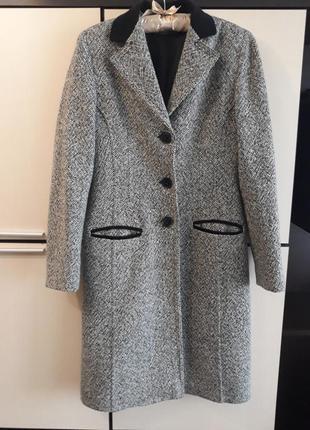 Шерстяное пальто италия chopin