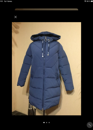 🔥 отличный 🔥 пуховик куртка пальто био пух