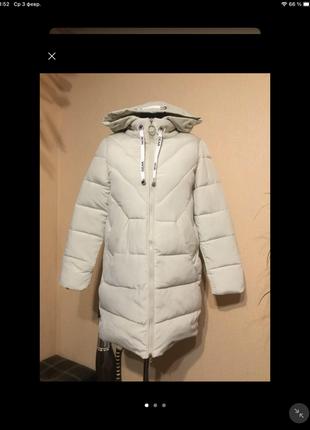 🔥отличное 🔥 пальто куртка пуховик био пух