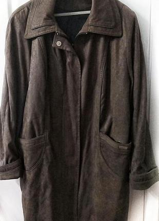 Куртка пальто большой размер