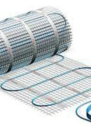 Тепла підлога електрична кабель мат теплый пол,
