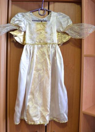 Новогодний костюм ангел на 3-4 года, новогоднее платье, костюм...