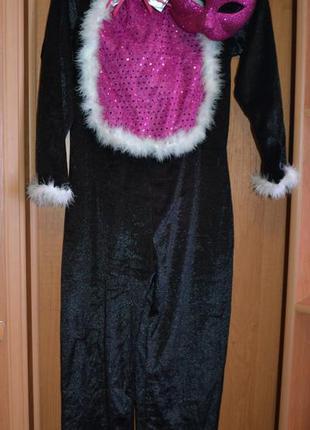 Карнавальный костюм кошка на 9-10 лет, костюм кошечка