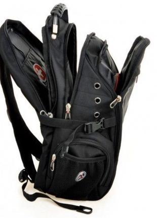 Рюкзак Swissgear 8810 Black Swiss Bag + ПОДАРОК