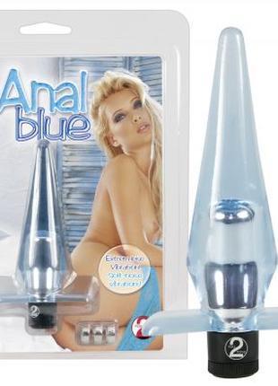 Анальная пробка Anal blue