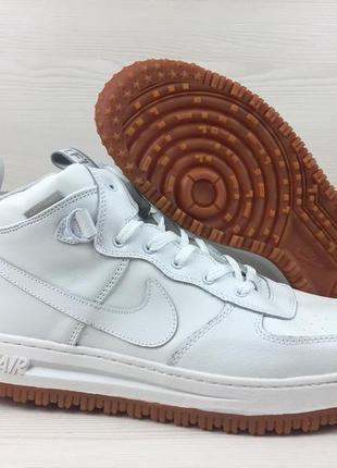 Мужские кроссовки  nike lunar force 1 white р.41,42,43,44,34,46
