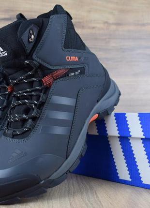 Мужские зимние ботинки adidas climaproof р.41-44