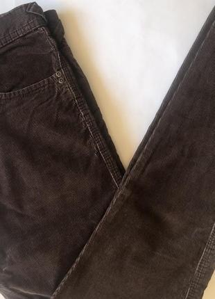 Коричневые вельветовые брюки h&m !