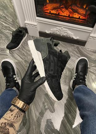 Мужские кроссовки  asics gel lyte 3 black