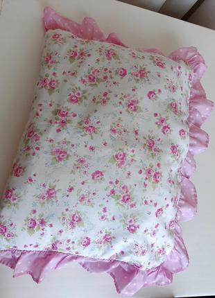 Подушка защита на кроватку