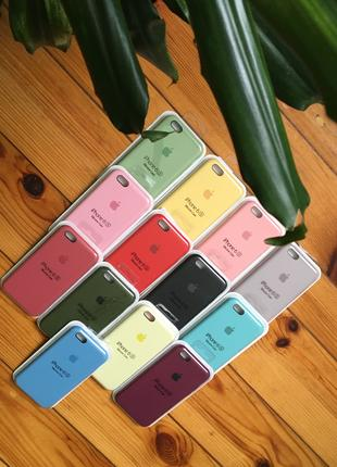 Чехол на айфон / Silicone case iPhone 6/7/8/+/X/Xs/XR/Xsmax
