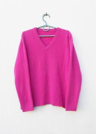 Зимний осенний 100% кашемировый свитер с длинным рукавом 🌿