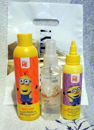 Детский набор:шампунь-кондиционер, краски д/купания, лосьон-спрей