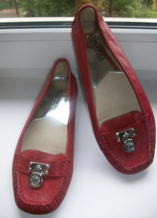 Туфли-мокасины женские натуральная кожа michael kors р.37