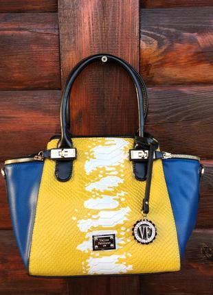 Модная сумка весна лето 2018, velina fabbiano оригинал 100%.
