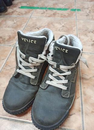 Мужские ботинки 42размер весна,осень ,теплая зима